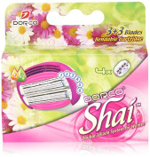 Soft TouchTM 6 Blade Razor System for Women Cartridges (Dorco Shai)
