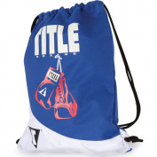 Title Boxing Gym Sack Pack - Navy