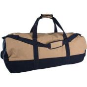 Duffle Bag with Zipper, 2-Tone, 46cm x 90cm