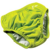 FINIS Reusable Swim Nappy - XS - Solid Lime Green