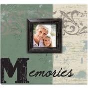Memories Post Bound Scrapbook with Window, 30cm x 30cm