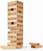Hape - Toppling Wood Blocks - NEW FALL 2015