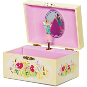 Traditional Wind Up Pink Musical Box With Rotating Fairy Girls Christmas Gift
