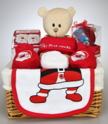 Unisex Baby Boy Girl My First Christmas Hamper Gift Basket Baby Shower Christmas Present