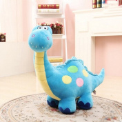 Soft Cartoon Cuddly Large Dinosaur Dragon Colourful Plush Toy, 40 CM, 16 Inch, Blue, Pink, Green