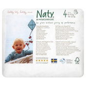 Naty by Nature Babycare - Size 4 (18-33 lbs/8-15kg) Eco Nappy Pants, 22 per Pack