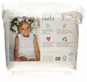 Naty by Nature Babycare - Size 5 (26-40 lbs/12-18kg) Eco Nappy Pants, 20 per Pack