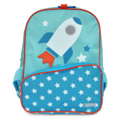 Little JJ Cole Toddler Backpack Rocket