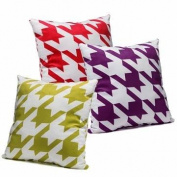 45cm Soft Flannel Pillow Case Home Sofa Cushion Cover