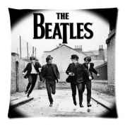 The Beatles Zippered Throw Pillow Cases Cover Cushion Case 18x18