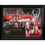 Arsenal F.c. Framed Print Invincibles 16 X 12 Christmas Gift Idea