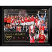 Arsenal F.c. Framed Print Invincibles 16 X 12 Christmas Gift Idea