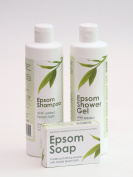 Epsom Shampoo, Epsom Shower Gel & Epsom Soap Offer - Free Next Day Delivery