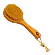 Tenflyer Long-handled Bristle Detox Wooden Handle Body Brush Skin Brush