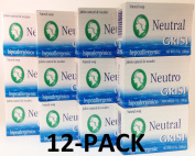 12pk - Neutral Soap - Jabon Neutro - Grisi