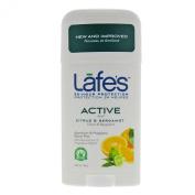 Lafes Natural Deodorant Twist-Stick Active 64g - Citrus & Bergamot