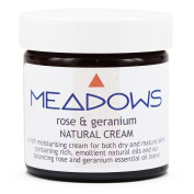 Rose & Geranium Natural Cream (Meadows Aroma) 60ml