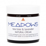 Tea Tree & Lavender Natural Cream (Meadows Aroma) 500ml