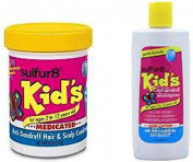 Sulfur8 Medicated & Anti-Dandruff Shampoo & Conditioner for Kids