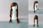 Ladieshair Cosplay Wig Anna 60 cm Brown
