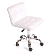 Urbanity Diva Hairdressing Beauty Manicure Nail Technician Salon Chair Stool Seat White