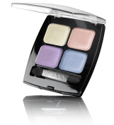 Isadora Eye Shadow Quartet 62 Rainbow Pearls. Fragrance Free. Clinically Tested. Extra Long Lasting