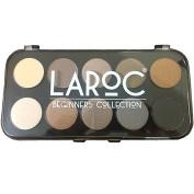 LaRoc 10 Colour Eyeshadow Eye Shadow Palette Makeup Kit Set Make Up Professional