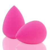 Amison 2Pcs Beauty Sponge Latex Free Blender Makeup Flawless Liquid Foundation