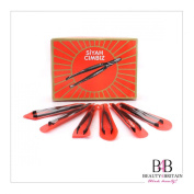 60 x EYEBROW TWEEZERS Stainless Steel in Box Individually Wrapped Wholesale Job Lot UK