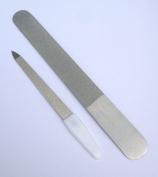 Pathfinder Technologies ® Diamond DEB Foot Dresser & Companion Nail File set.