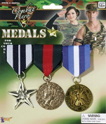 COMBAT HERO MEDALS 3 SET COMBAT HERO MEDALS 3 SET