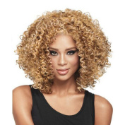 Fashion Deep Curly Hair Wigs Beautiful Short Wig Golden Fabulous Wig For Woman