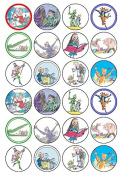 24 x Roald Dahl (#2) Cupcake Cake Toppers