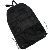 Chic Black Multi-Pocket Car Back Rear Seat Organiser Holder Travel Storage Bag