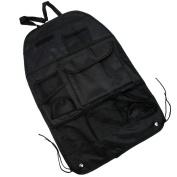 Chic Black Multi-Pocket Car Back Rear Seat Organiser Holder Travel Storage Bag