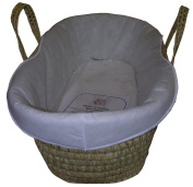 Padded Moses Basket Liner by eBabygoods