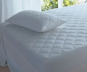 The Bettersleep Company Anti Allergy Mattress Protector Double Bed Quilted anti bacterial treatment protects against dustmites & other household allergens