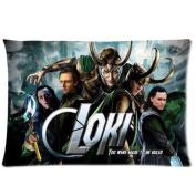 MMHDiy Custom Tom Hiddleston The Avengers Loki Laufeyson Pillowcase Standard Size Design Cotton Pillow Case