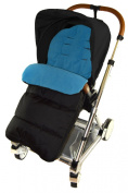 Universal Footmuff For Mamas & Papas Pushchair Ocean Blue