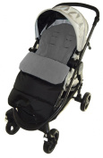Universal Footmuff to Fit Hauck Pushchair Dolphin Grey