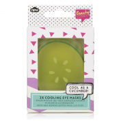 Cucumber Reusable Cooling Eye Mask Set