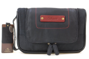 Ashwood Hanging Wash / Shaving Bag - Olympia - Black