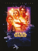 """Star Wars 60 x 80 cm """"Episode IV - A New Hope"""" Canvas Print"""