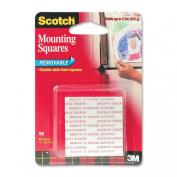Scotch Removable Mounting Squares , 2.5cm x 2.5cm , 16 Squares
