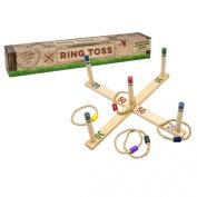 Professor Puzzle Wooden Ring Toss