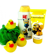 Minions Despicable Me Bath Body Wash Shampoo Duckies Gift Set
