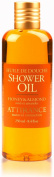 Attirance - Shower Oil - Honey & Almond - 250ml - All Natural with Honey Extract, Almond Oil & Almond Extract