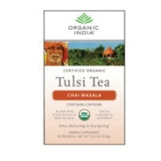 Organic India Organic Tulsi Tea, Chai Masala 18 ct
