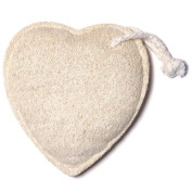 Bath Accessories Natural Scrubbers Loofah Sponge, Heart