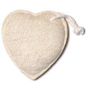 Bath Accessories Natural Scrubbers Loofah Sponge, Heart